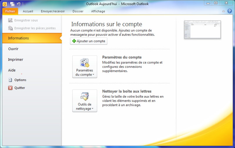 Fichier:Outlook2010Sc1.png